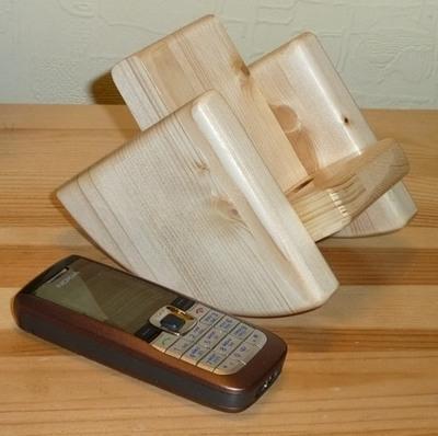 Подставка под телефон своими руками из